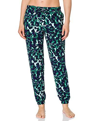 Calvin Klein Jogger Pantaln de Pijama, Remnants_Aqua Luster, L para Mujer