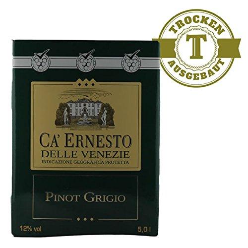 Weißwein Italien Pinot Grigio Ca Ernesto Bag in Box trocken (1x5L)