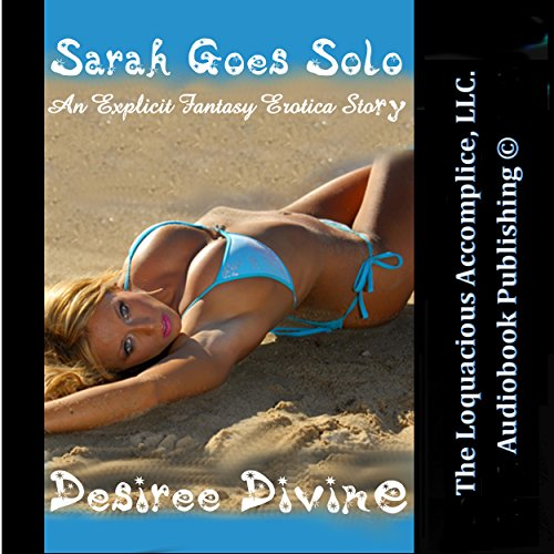 Sarah Goes Solo audiobook cover art