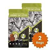CatSpot Litter, Non-Clumping Formula: Coconut Cat Litter, Biodegradable, All-Natural, Lightweight &...