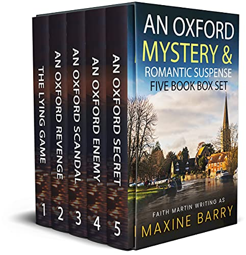 AN OXFORD MYSTERY & ROMANTIC SUSPENSE FIVE-BOOK BOX SET five utterly gripping page-turners (Totally Fabulous Mystery and Suspense Box Sets 1) (English Edition)