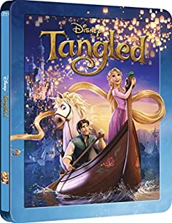 Tangled Limited Collectible Steelbook 3D Exclusive Limited Edition [Blu-ray]