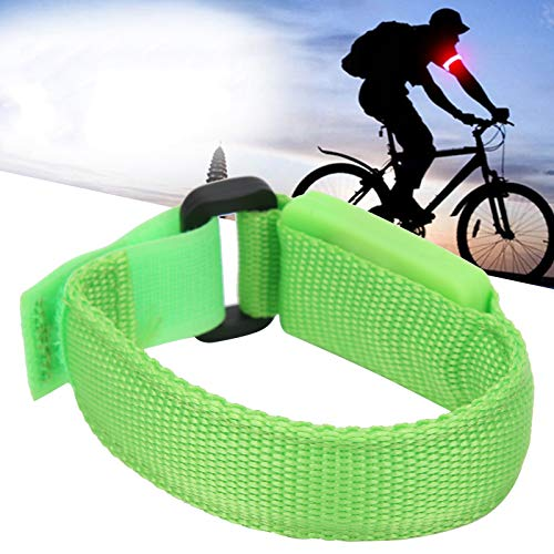 Brazalete LED, Pulseras para deportes al aire libre Pulsera luminosa LED Pulsera de ciclismo para caminar para conciertos para ciclismo para acampar para correr(green)
