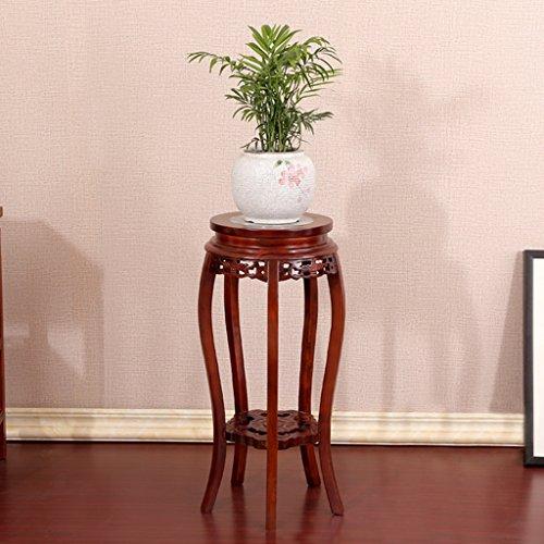William 337 Stand de fleur Stand de fleur de bois solide Stand de fleur de marbre Stand Plancher de plante chinoise