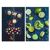 BBJOZ ジグソーパズル2食セットマカロンおいしい食べ物の道標大人の子供のための1000個のパズル-楽しいゲームギフト BBJOZ DQYC