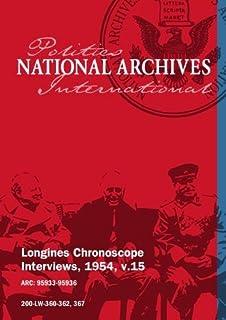 Longines Chronoscope Interviews, 1954, v.15: Vengalil Menon, Adm. Richard Byrd