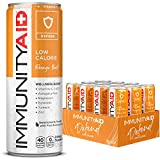 IMMUNITYAID Support Blend, Echinacea, Zinc, Astragalus and Vitamin C, No Artificial Flavors or Sweeteners, Contains 100% Clean, Vegan and Gluten-free, No Sodium, No Caffeine, 12-oz. Can (Pack Of 12)