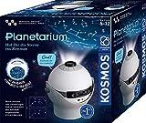 KOSMOS 671549 Planetarium - Hol dir die Sterne ins Zimmer, Projektor mit 2 auswechselbaren Sternkarten, spannende Infos zu Sternen, Galaxien, Planeten, Astronomie für Zuhause für Kinder ab 8 Jahre