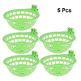 POPETPOP - Set di 3 nidi per canarini, in plastica cava, per appendere uova, fringuelli, pappagalli, canarini, piccioni