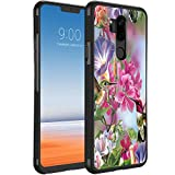 Hummingbird LG G7 ThinQ Case Black TPU Rubber Protective Cell Phone Case for LG G7 ThinQ with Non-Slip Fit Edge Protection Design