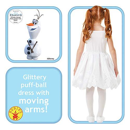 Rubie's, costume ufficiale Disney Frozen 2, Olaf Air Motion, costume da bambino, taglia S, età 3-4 anni