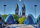 Freiburger Impressionen (Wandkalender 2019 DIN A3 quer): Freiburg im Breisgau (Monatskalender, 14 Seiten ) (CALVENDO Orte) - Gregor Luschnat