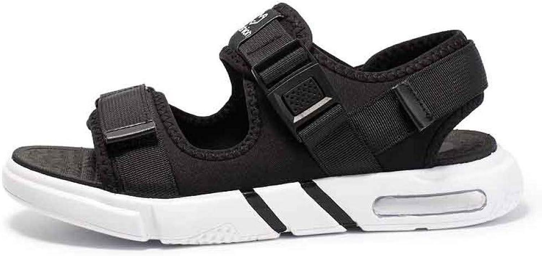 Tanxianlu Men Sandals Summer Sandals shoes Flat Male Slippers