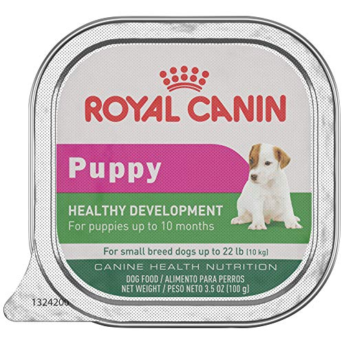 Royal Canin Canine Health Nutrition Puppy In Gel Tray Dog Food, 3.5oz (Pack of 24)