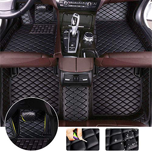 for Bentley Continental GT 2012-2017 Floor Mats Full Protection Car Accessories 3 Piece SetBlack