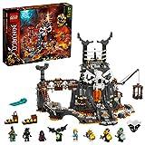 LEGO 71722 NINJAGO MazmorrasdelBrujodelosMuertos, Juguete de Construcción