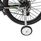 Lobboy Ruedines Adulto Bicicletas niños de Velocidad Variable Bicicleta de montaña Rueda Auxiliar 20 Pulgadas de 22 Pulgadas a 18 Pulgadas de Bicicletas Accesorios Cochecito (Color : 18-22inch)
