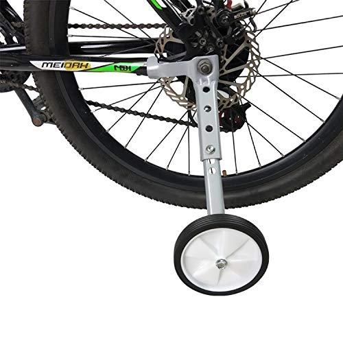Lobboy Rotelle Bici Adulti Bambini Biciclette a velocità variabile Mountain Bike Ruota ausiliaria da 20 Pollici 22 Pollici 18 Pollici Biciclette Passeggino Accessori (Color : 18-22inch)