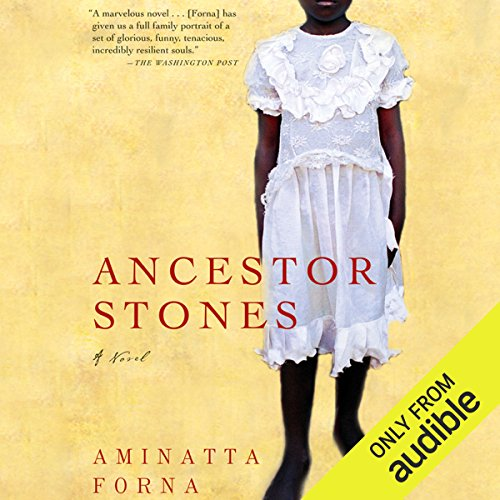Ancestor Stones audiobook cover art