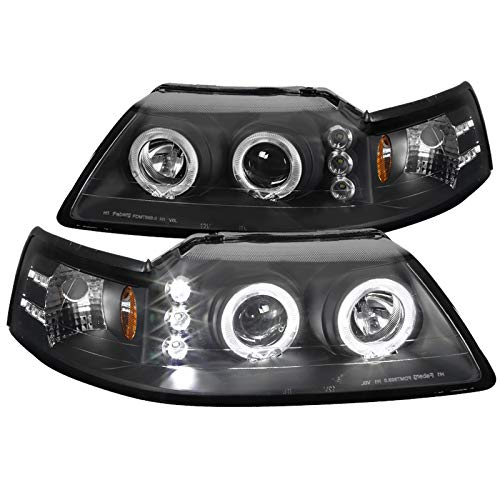 03 mustang halo headlights - 3