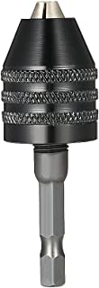 "Docooler Keyless Drill Chuck, Mini Portable 0.6-8Mm Electric Grinder Keyless Drill Chuck With 6.35Mm 1/4"" Hex Shank Univer..."
