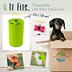 moonygreen Biodegradable Dog Poo Bags - Vegetable-Based, Home Compostable, Microplastic-Free, Unscented and Leak-Proof - 23 x 33 cm, Refill Pack of 120 12