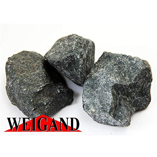 Weigand Finnische Saunasteine Premium identisch mit den Harvia Steinen I ca. 20 kg I 5-10 cm I...