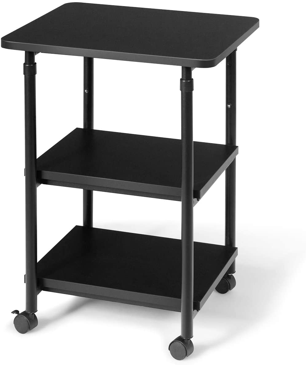 Tangkula 3-Tier Challenge the lowest price Adjustable Printer Cart w Stand Rolling All items in the store
