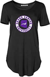 Official NCAA Grand Canyon GCU Lopes 1703CY01 Women's Crew Neck Tee