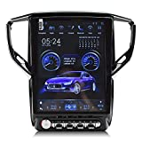 Krandonet Android 6.0 12.1' Vertical Screen car Radio GPS Navigation Player for Maserati Ghibli 2014-2016 Multimedia System WiFi Playstore easyconnect