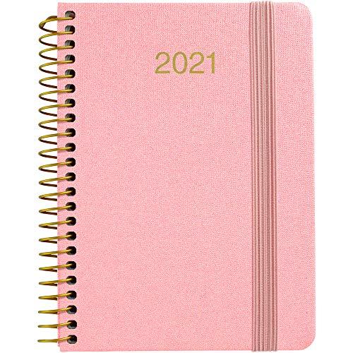 Grafoplás 70340853. Agenda Anual Espiral, 2021, Semana...