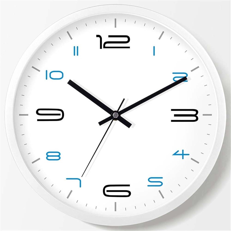 en stock Wall clock WERLM Salón Elegante Reloj Reloj Reloj de Parojo Reloj de Parojo Creative Dormitorio salón Dormitorio Mute Reloj de Parojo Reloj de Parojo Reloj de Cuarzo blancoo, Debe ser de 20 cm.  exclusivo