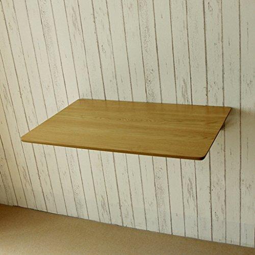Hairong Eenvoudige muur tafel vouwen tafel computer tafel eenvoudige eettafel, walnoot kleur multi-size optioneel