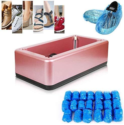 xfy-01 Dispensador de Cubierta de Zapatos Automático, Máquina Automática para Cubrir Zapatos para el Taller Hospital Zapatos Cover Dispensador, 100Pcs Shoe Covers