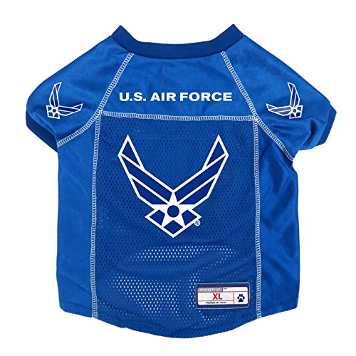 Littlearth US Air Force Pet Jersey, Extra Large
