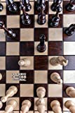 CLASSIC CHESS JOURNAL CHECKED NOTEBOOK: 6x9 inch daily bullet notes on checkered design creamy colored pages with beautiful chess figures and board cover perfect gift idea for women men kids