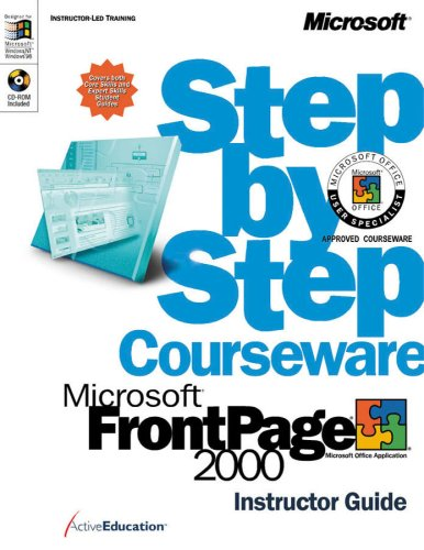 Microsoft Windows Front Page 2000: Step by Step Courseware