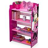 Disney Minnie Mouse 4 Shelves Storage Bookshelf