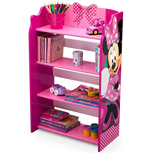 Disney Minnie Mouse 4 Shelves Storage Bookshelf