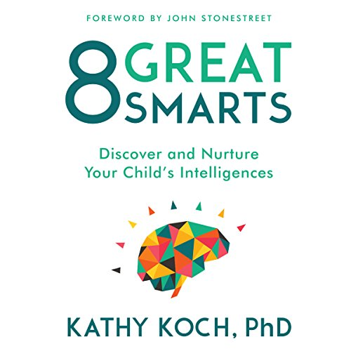 8 Great Smarts audiobook cover art