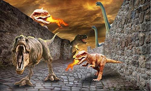 Holzpuzzle 1000 Teile Dinosaurierwelt brechen die Wand