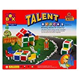 Clickedia Building Blocks for Kids Easy to Make his her own Design Model Birthday Gift for Boys and Girls 3 4 5 6 7 Year Old (Talent Box-66 pcs)
