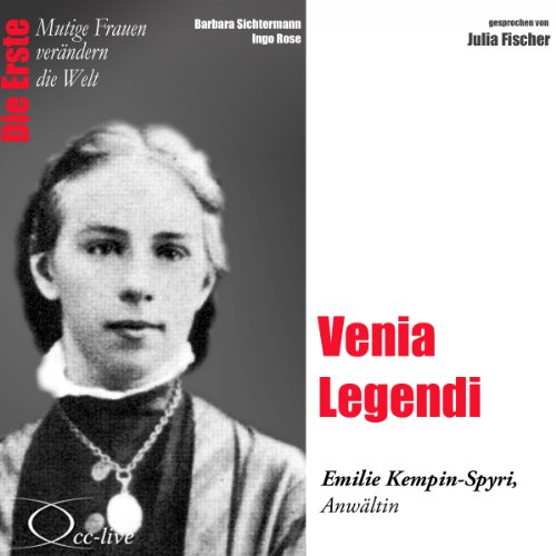 Venia Legendi - Emilie Kempin-Spyri audiobook cover art