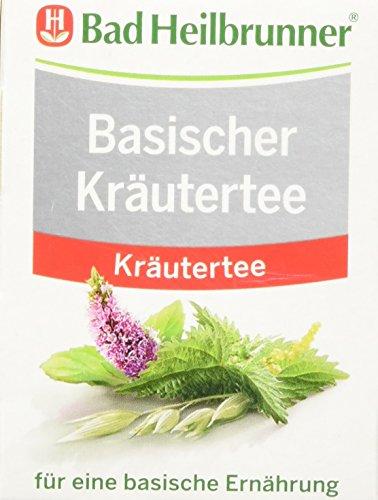 Bad Heilbrunner Basischer Kräutertee, 8er Filterbeutel, 14.4g
