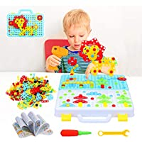 Pickwoo Electric DIY Drill Educational Set for Kids