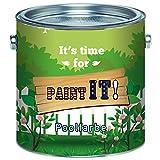 Paint IT! Pintura para piscinas de plástico reforzado con fibra de vidrio, plástico y poliéster de 2 componentes, incluye Endurecedor en set en azul, blanco, verde mar, selección de colores, Blanco