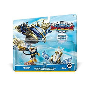 Skylanders Superchargers Dual Pack 2  Hurricane Jet Vac Jet Stream   PS4/Xbox One/Xbox 360/Nintendo Wii/Nintendo Wii U/Nintendo 3DS