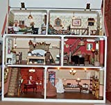 Melody Jane Pies Maison de Poupées Victorien Shop Pub Café Non Peinte Paquet Plat Kit 1:12 Échelle