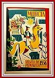 PostersAndCo Murcia Fiesta 1956 Poster/Kunstdruck 60 x 90