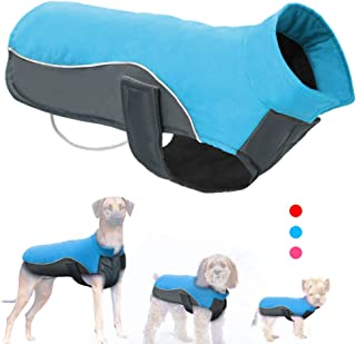 Didog Reflective Dog Winter Coat Sport Vest Jackets Snowsuit Apparel - 8 for Small Medium Large Dogs